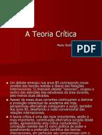 A Teoria Crítica