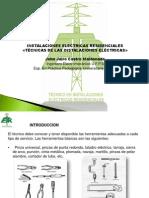 TÉCNICAS DE LAS INSTALACIONES ELÉCTRICAS