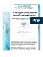 Ambient Insight 2010 2015 Worldwide eLearning Market Executive Overview