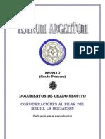 Consideraciones Al Pilar Del Medio (Astrum Argentum)