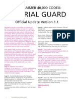 m2170011a Imperial Guard FAQ Version 1 1 January 2012
