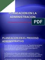 i.3.- Planeacion en La Administracion