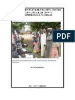 Final Agriculture Training Report 2007