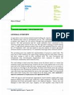 3rd Quarter Agriculture Report 2007