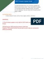 OCZ SSD v1.7 Firmware Update Guide
