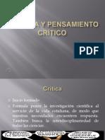 Lectura y Pensamiento Critico