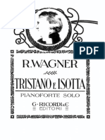 Wagner, Richard - Tristan Und Isolde - Piano Score (1957-9)