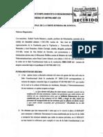 Incidente Desobediencia Entregado