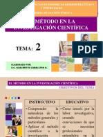 Tema2 el Método en la inv cientifica