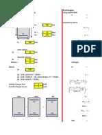 Perhitungan Redesign Dimensi Balok