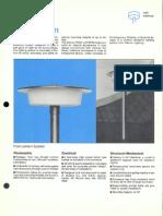 Sterner Decorative Post Top Post-Lantern Brochure 1974