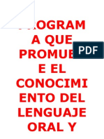 Lengua Je Oral
