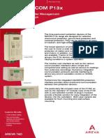 Micom-p13x en Brochure