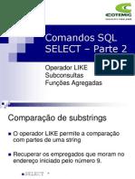 Comandos SQL pt2
