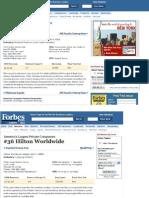 Amway Revista Forbes Puesto 32