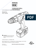 Crafstman Drill Manual