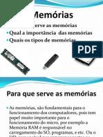 Memórias cedaspy