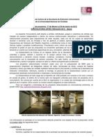 Bases Convocatoria Artes Visuales 2012