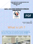 LiFi seminar presentation