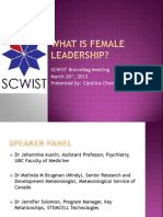 What is Female Leadership?