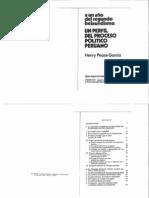 Un perfil del proceso político peruano
