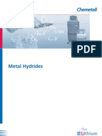 DL Metal Hydrides
