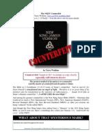 NKJV Counterfeit