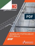 Bandejas Portacables Tipo Malla Wm_espanol
