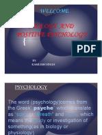 2012 Psychology &Positive Psychology