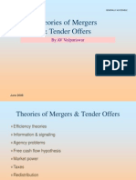 Theories of Mergers and Tender Offers