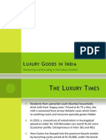Luxury Marketing in India