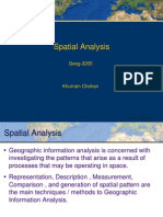 Spatial Analysis 6th semester
