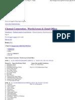 Chennai Corporation - Wards