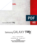 Sam Galaxy Tab 10 English
