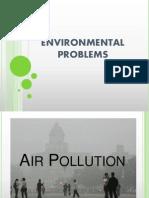 Environmental Problems
