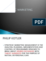 Strategic Marketing 1