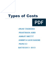 Types of Costs (1)