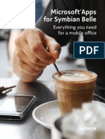 Microsoft Apps for Symbian Belle
