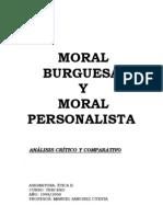 Moral Burguesa y Moral Personalista
