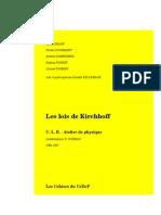 Lois de Kirchhoff