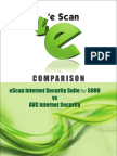 eScan Internet Security Suite for SOHO vs AVG Internet Security
