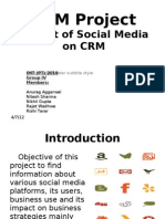 CRM Group Project_Social Media and CRM