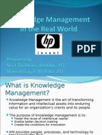 Knowledge-management MIS Presentation Final