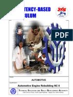 CBC - Automotive Engine Rebuilding NCII