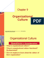 Organizational Culture. Presentation