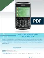 Blackberry Factory Metric Reports