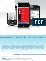 Chicago Transit Application
