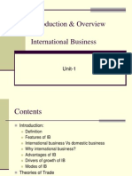 UNIT 1INternational Business
