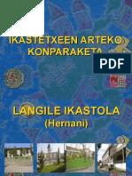IKASTETXEEN ARTEKO KONPARAKETA