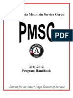 Americorps Handbook |  Season of Service Mountain Corps